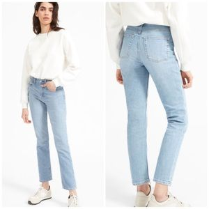 Everlane Jeans - EVERLANE CHEEKY STRAIGHT ANKLE JEAN Light Wash